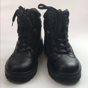 Lugz Men's Black Sleep Resistant Shoes Boots.